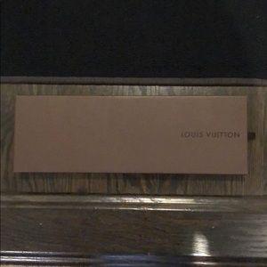 AUTHENTIC LOUIS Vuitton tie box